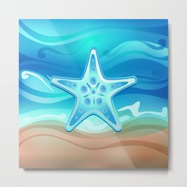 Starfish G219 Metal Print