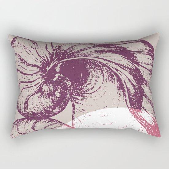 hear the sound Rectangular Pillow