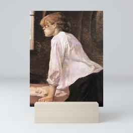 The Laundress by HT-L Mini Art Print