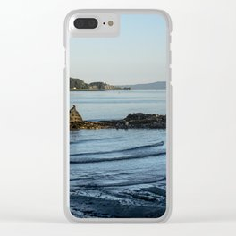 Cool Waves Clear iPhone Case
