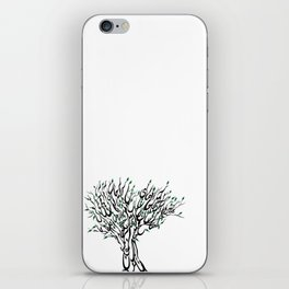 Spring آمد بهار جانها ای شاخ تر برقصا iPhone Skin