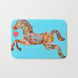 Carousel Horse Bath Mat