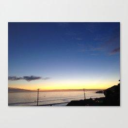 SUNSETS Malibu  Canvas Print