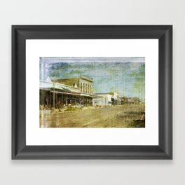 Any Town USA Framed Art Print