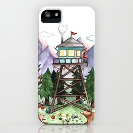 Mountain Lookout iPhone Case