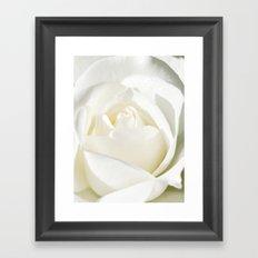 Pale Framed Art Print