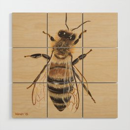 Bee III (Sampson) Wood Wall Art