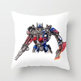 Trans Former Throw Pillow