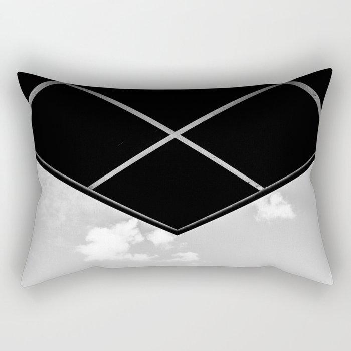 Sky with corner Rectangular Pillow