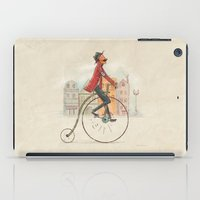 cycling iPad Cases featuring Old cycling by Diego Caceres