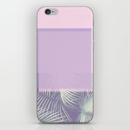 PASTEL & LEAF iPhone Skin