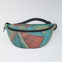 Patchwork Playground Fanny Pack
