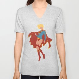 Supergirl Unisex V-Neck