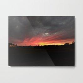 Sweeping Sunset Metal Print