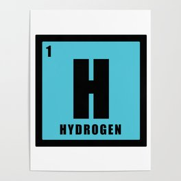 Hydrogen is chemistry Poster