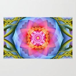Flowers Mandala Rug