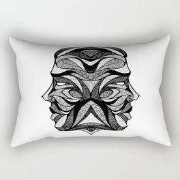 Signs of the Zodiac - Gemini Rectangular Pillow