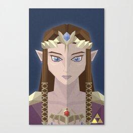 The Princess of Hyrule Canvas Print