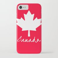 canada iPhone & iPod Cases featuring Canada by Jason Michael