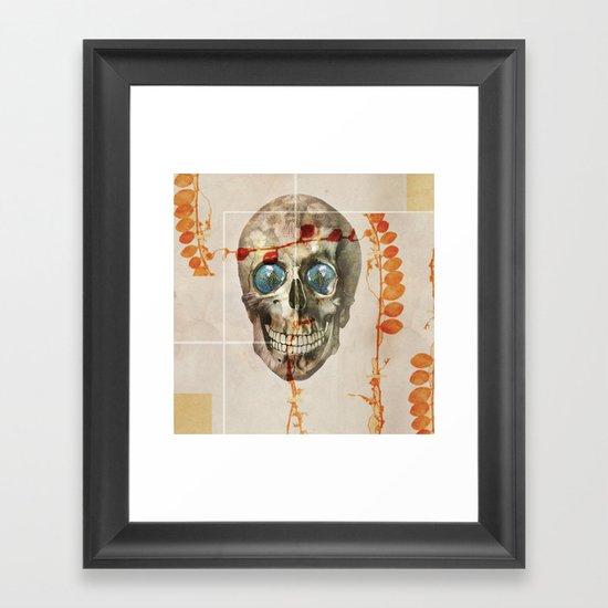 skull#04 Framed Art Print