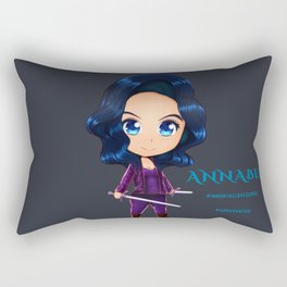 Annabel Chibi Rectangular Pillow