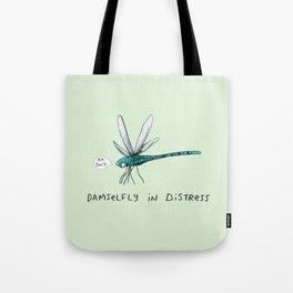 Damselfly in Distress Tote Bag