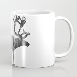 Moose Silhouette | Forest Photography Coffee Mug