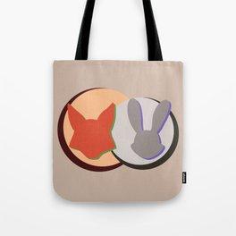 Nick and Judy Logo Design  Tote Bag