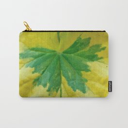 Splatter of Green Carry-All Pouch