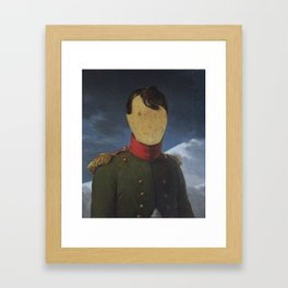 Potatoleon (Feed, don't invade) Framed Art Print