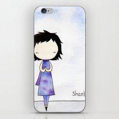 Shanti iPhone Skin