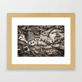 The Reach (Landscape) Framed Art Print