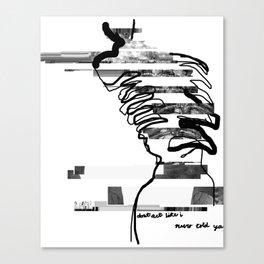 spinal glitch pt. 2 Canvas Print