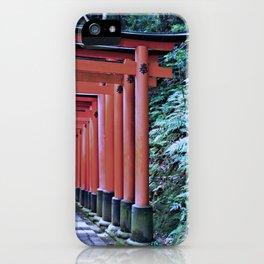 Inari Gates Galore iPhone Case