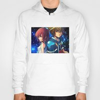 kingdom hearts Hoodies featuring KINGDOM OF HEARTS by Cat Milchard