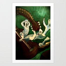 Soul in Music Art Print