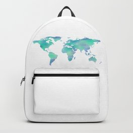 Cool Blue World Backpack