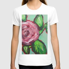 Pink Peony Floral T-shirt