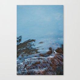 Cold Flow Canvas Print
