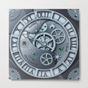 Steampunk clock silver by brittaglodde