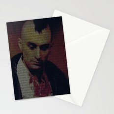 Travis. Taxi Driver Screenplay Print Stationery Cards