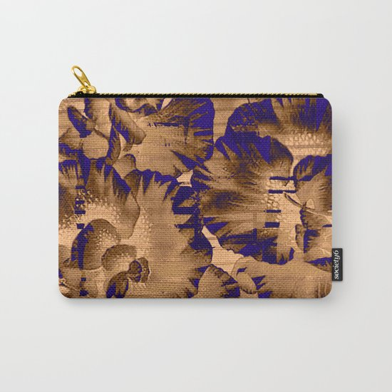 flowers through a pane Carry-All Pouch
