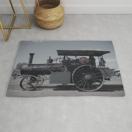 Antique Tractor Rug