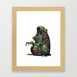 ZomBfrog Framed Art Print