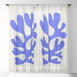 Electrik: Matisse Color Series III | Mid-Century Edition Sheer Curtain