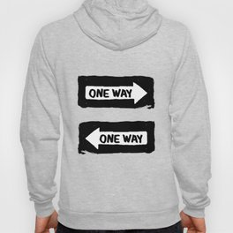 One Way Hoody