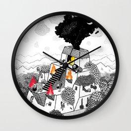 Unheimlich Wall Clock