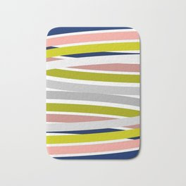 Colorful Strips Bath Mat