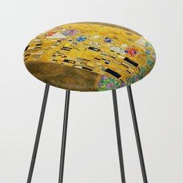 Gustav Klimt The Kiss Counter Stool