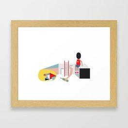 always me Framed Art Print